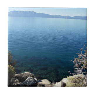 Lake Tahoe 5 Small Square Tile
