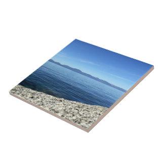 Lake Tahoe 6 Small Square Tile