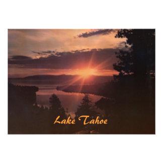 Lake Tahoe at Sunrise Party Invitation