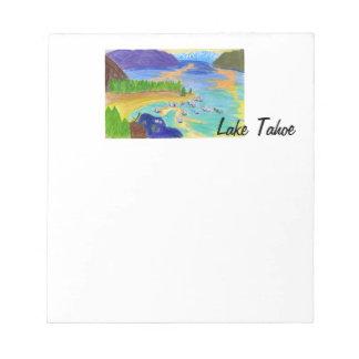 Lake Tahoe at Sunset notepad