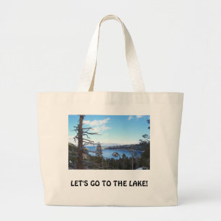 Lake Tahoe Beach Bag,