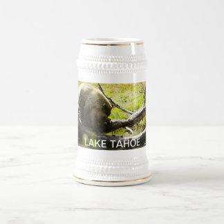 Lake Tahoe beer Steins California bears cubs cute 18 Oz Beer Stein