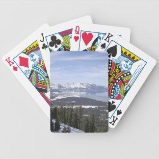 Lake Tahoe Bicycle Playing Cards