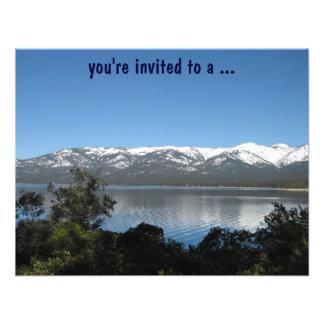Lake Tahoe Birthday Party Invites