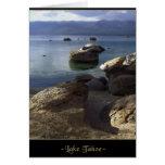 Lake Tahoe Blank Note or Greeting Card
