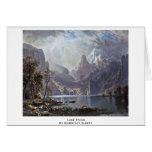 Lake Tahoe By Bierstadt Albert Greeting Card