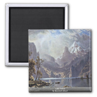 Lake Tahoe By Bierstadt Albert Magnet