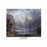 Lake Tahoe By Bierstadt Albert Postcard