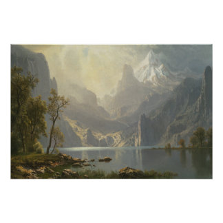 Lake Tahoe by Bierstadt Poster