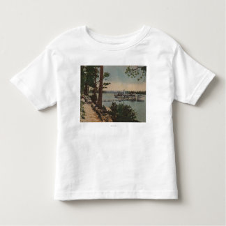 Lake Tahoe, CA - Emerald Bay View with Steamer T Shirt