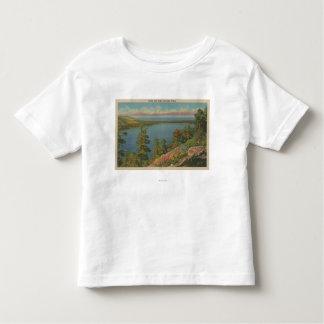 Lake Tahoe, CA - Fallen Leaf Lake and Lake Tahoe Toddler T-shirt