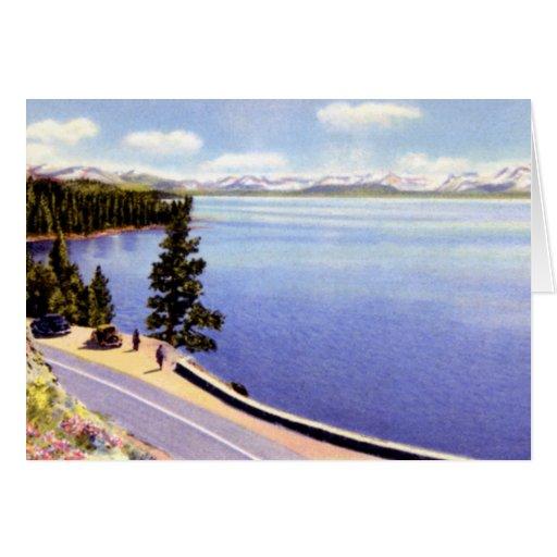 Lake Tahoe California Greeting Cards