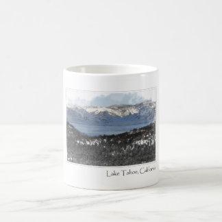 Lake Tahoe California in Winter Mugs
