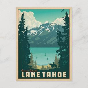 Lake Tahoe   California & Nevada Postcard