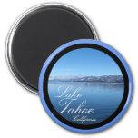 Lake Tahoe California scenic circle magnet