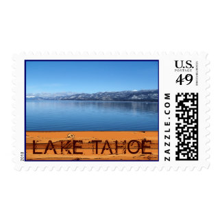 Lake Tahoe California scenic postage stamps
