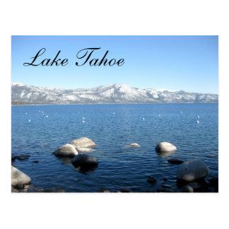 Lake Tahoe California Snow  Mountains Post Card