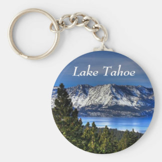 Lake Tahoe California Sunset Emerald Bay Keychain