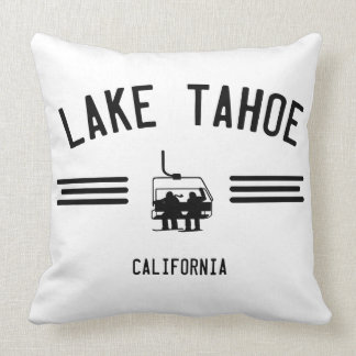 Lake Tahoe California Throw Pillow