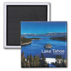 Lake Tahoe California Travel Photo Fridge Magnets