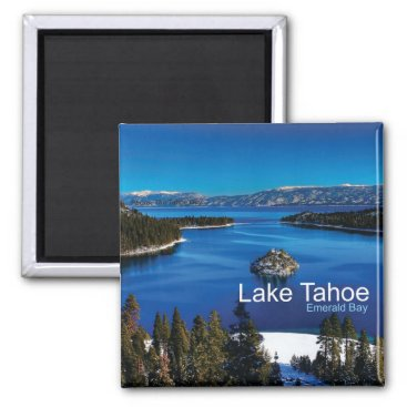 Harrydidntdoit Lake Tahoe California Travel Photo Fridge Magnets