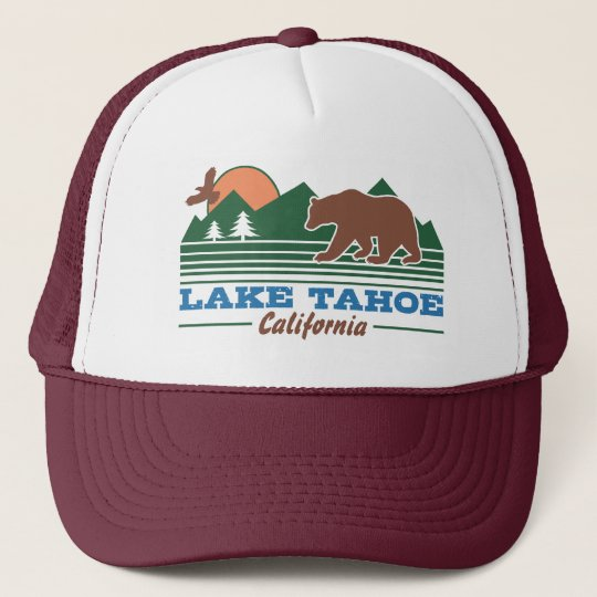 a067a40a1ae Lake Tahoe California Trucker Hat