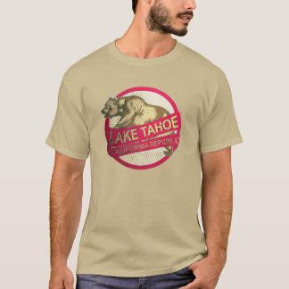 Lake Tahoe California vintage grunge bear tshirt
