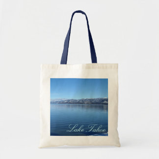 Lake Tahoe California waters edge souvenir bag