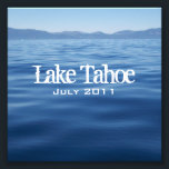 "Lake Tahoe CD Insert Photo<br><div class=""desc"">An insert for jewel case for CD or DVD copies of vacation pictures or wedding at Lake Tahoe.  Choose the &quot;customize it&quot; feature to change the text message,  wording,  size or color.</div>"