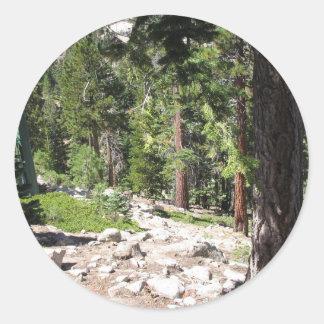 Lake Tahoe Classic Round Sticker