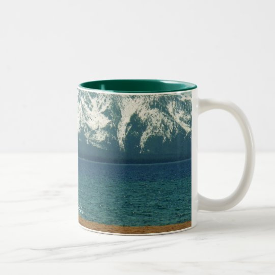 Lake Tahoe Cup/Mug Two-Tone Coffee Mug