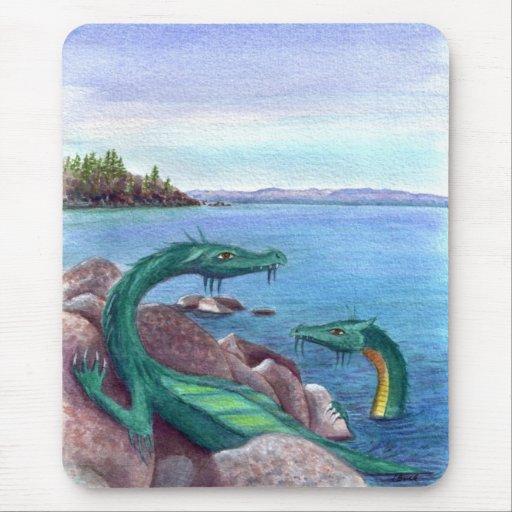 Lake Tahoe Dragons Mouse Pads
