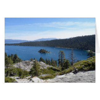 Lake Tahoe- Emerald Bay Card