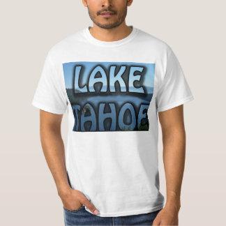 Lake Tahoe Emerald Bay Photo T-shirt Text Shirt