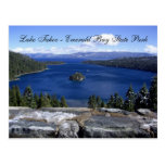 Lake Tahoe - Emerald Bay State Park Postcard