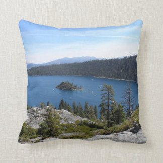 Lake Tahoe- Emerald Bay Throw Pillow