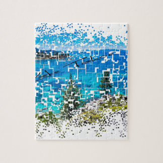 Lake Tahoe Graphic Jigsaw Puzzle
