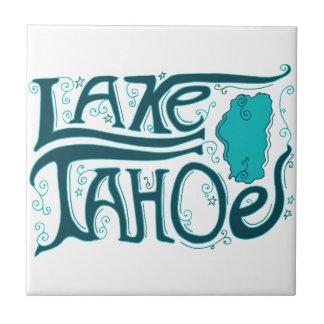 Lake Tahoe Hand Drawn Logo Tiles