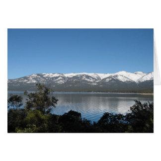 Lake Tahoe Happy Birthday Card