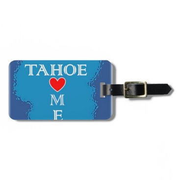 Lake Tahoe Home Bag Tag