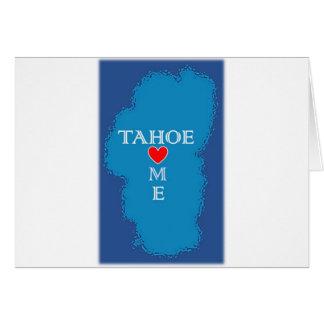 Lake Tahoe Home Card