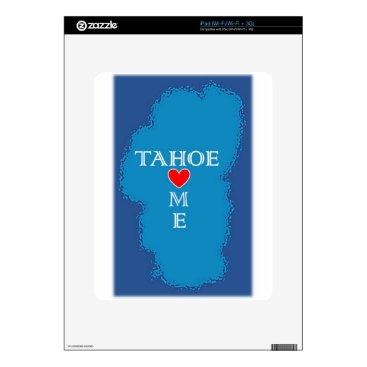 Beach Themed Lake Tahoe Home Decal For The iPad