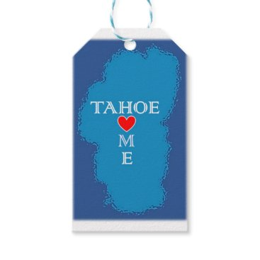 Lake Tahoe Home Gift Tags