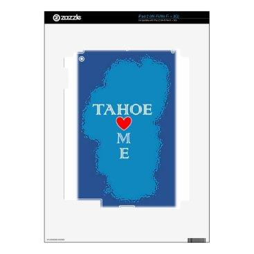 Beach Themed Lake Tahoe Home iPad 2 Decal