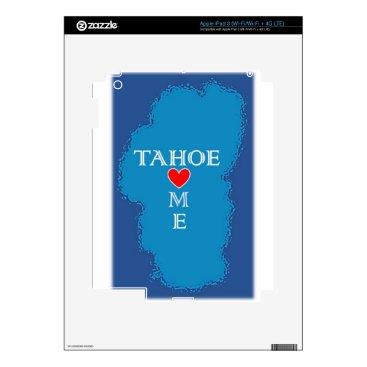Beach Themed Lake Tahoe Home iPad 3 Decal