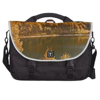 Lake Tahoe in the Fall / Winter Landscape Commuter Bag