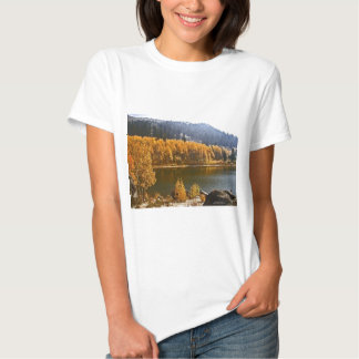 Lake Tahoe in the Fall / Winter Landscape T Shirt