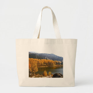 Lake Tahoe in the Fall / Winter Landscape Tote Bag