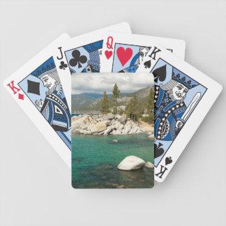 Lake Tahoe Landscape Bicycle Playing Cards