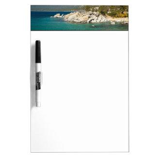 Lake Tahoe Landscape Dry Erase Board
